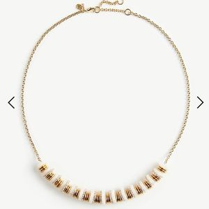 Ann Taylor Acetate rondelle necklace